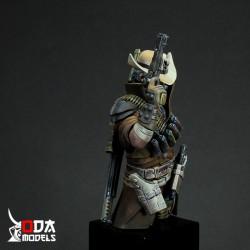 Peana busto madera tabaco 3x3x5