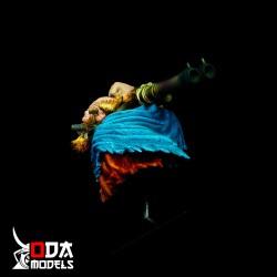 Peana taco madera cerezo 4x4x5