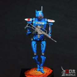 Black lacquered pedestal...