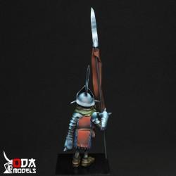 Peana madera olivo con base...