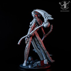 Base round black pedestal...