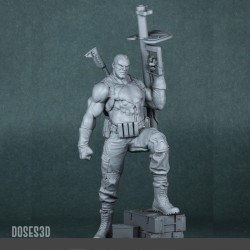 Lazy Resin Cat