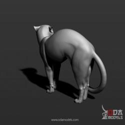 Perro Labrador en resina